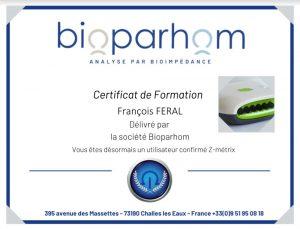 certification bilan corporel françois feral